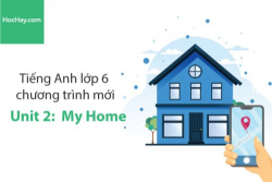 Tiếng Anh lớp 6 – Unit 2: My Home – Học Hay