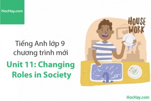 Tiếng Anh lớp 9 – Unit 11: Changing Roles in Society – Học Hay