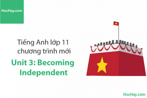 Tiếng Anh lớp 11 – Unit 3: Becoming Independent – Học Hay