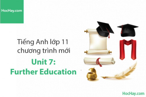 Tiếng Anh lớp 11 – Unit 7: Further Education – Học Hay