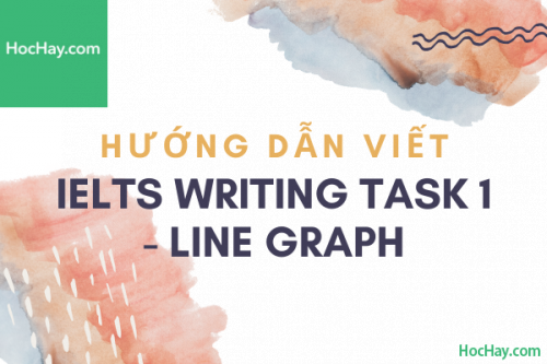 Cách viết IELTS Writing Task 1 - Line Graph | Học Hay