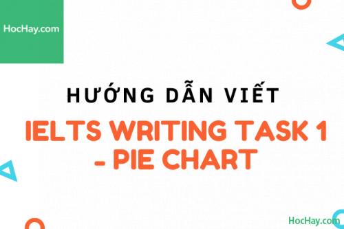 Cách viết IELTS Writing Task 1 - Pie Chart | Học Hay