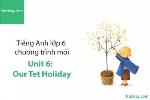Tiếng Anh lớp 6 – Unit 6: Our Tet Holiday – Học Hay