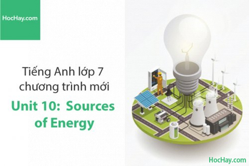 Tiếng Anh lớp 7 – Unit 10: Sources of Energy – Học Hay