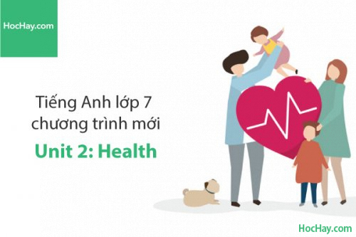 Tiếng Anh lớp 7 – Unit 2: Health – Học Hay