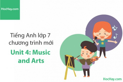 Tiếng Anh lớp 7 – Unit 4: Music and Arts – Học Hay