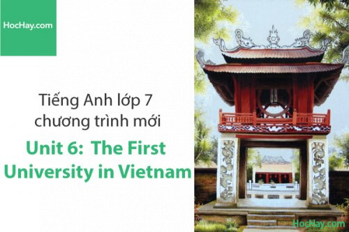 Tiếng Anh lớp 7 – Unit 6: The First University in Vietnam – Học Hay